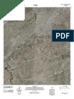 Topographic Map of Buena Vista SW