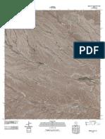 Topographic Map of Bullis Gap NE