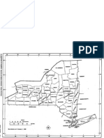 Outline Map of New York
