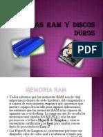 Memorias Ram y Discos Duros