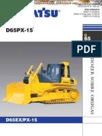Catalogo Bulldozer d65ex Px 15 Komatsu