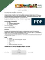 Fichas Técnicas FRUVER