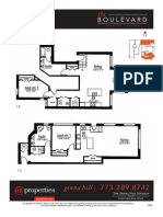 The Boulevard, 6830 N. Ashland, Floor Plan Inserts