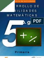 Cuadernillo Mat 5 Prim