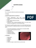 Gastritis Aguda
