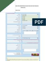 Panduan Pendaftaran Kemenkumham 2012