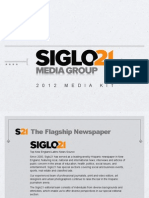 SIglo21 Media Kit 2012