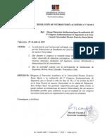 Res. VRA N°38-2012