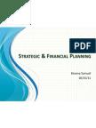 Strategic & Financial Planning