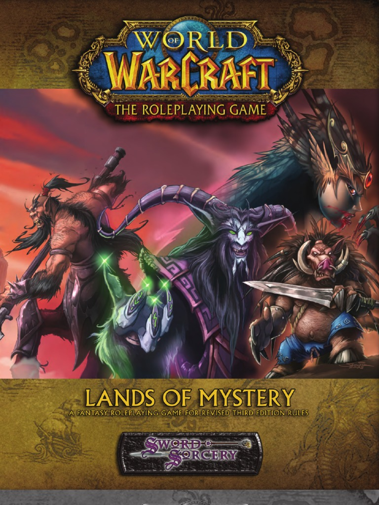 World of Warcraft - Lands of Mystery by Azamor | Races And