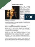 Biografia de Issac Newton