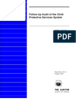 Follow-Up Audit of the Child Protective Services System, HA, 2003