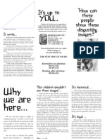 Why We Are Here (Prolife Propaganda, Baltimore)