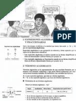 EXPRESIONES ALGEBRAICAS Y ADICIÓN Y SUSTRACCIÓN
