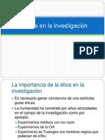 La Tica en La Investigacin