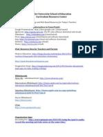 RiderUniversitySchoolofEducation App List