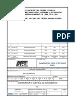 Procedimiento de codificación y control de documentos