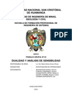 DUALIDAD Y ANÁLISIS DE SENSIBILIDAD