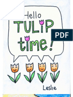 Hello Tulip Time