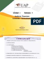 Auditoria Financiera - Generalidades