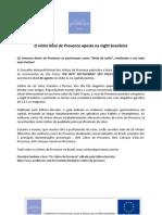 Press Release Festa RoséŽ de Provence e Carta de vinhos