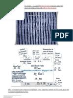 57) ATUALIZADO-Pulover Ponto Ingles-Tamanho 44 A 48-Parte da Frente-Lã Industrial 2.28-3 Fios (junto com a inclinação)
