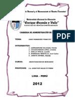 Caso Pancito - Monografia