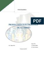 11- Producción Electrolítica de Aluminio.