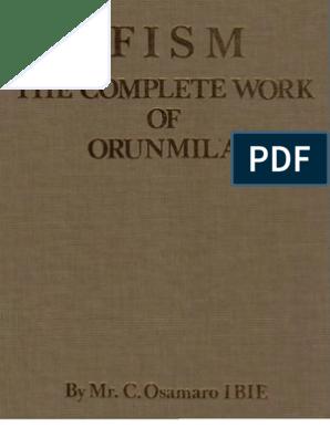 Osamaro IFISM Vol 1 English Complete Osamaro Ibie | Divinity | Sacrifice