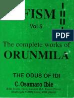 Osamaro IFISM Vol 5 English Complete Osamaro Ibie