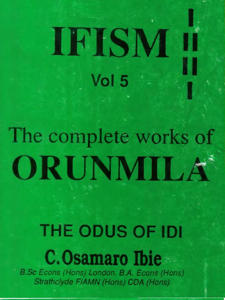 Osamaro IFISM Vol 5 English Complete Osamaro Ibie | Socialism | Full