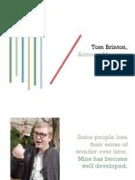Tom Brinton Portfolio