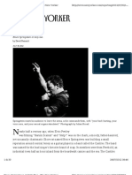 The New Yorker Interview to Springsteen