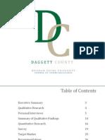 Daggett County Research