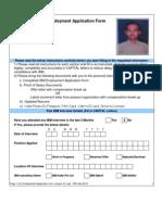 IBM Employment Application Form V4.0 Wef 05MAR2012