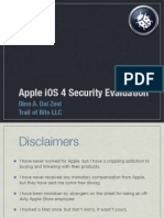 Ios4 Security Evaluation Slides