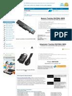 Www.bateriabaratos.com Toshiba Pa3780u 1brs