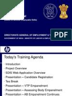 Sdis_training Web Site Details