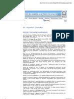 Bangalore Report