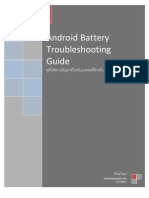 Android Battery Troubleshooting Guide