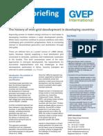 Policy Briefing - Mini-grid Final