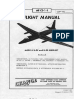 Flight Manual Models U-2C and U-2F Aircraft (1968)