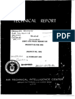 Technical Report - Project #9961 Silver Bug (1955)