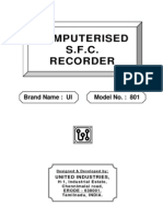SFC Technical Catalog