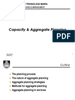 Capacity & Aggregate Planning (T7)