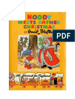 Blyton Enid Noddy 11 Noddy Meets Father Christmas 1955