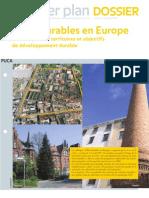 Villes Durables _orientations Clés & références Européennes