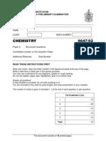 RJC 2011 Chem Prelim Paper2