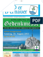 Der Bernauer - August 2012