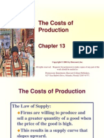 Lec - 1 - Chapter 13 - The Costs of Production